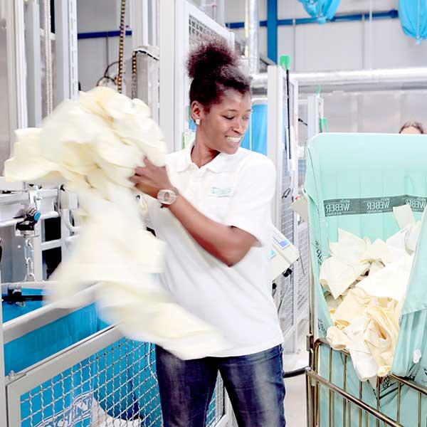 Wäschesortierung